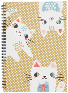 Danica Ring Bound Notebook Meow Meow