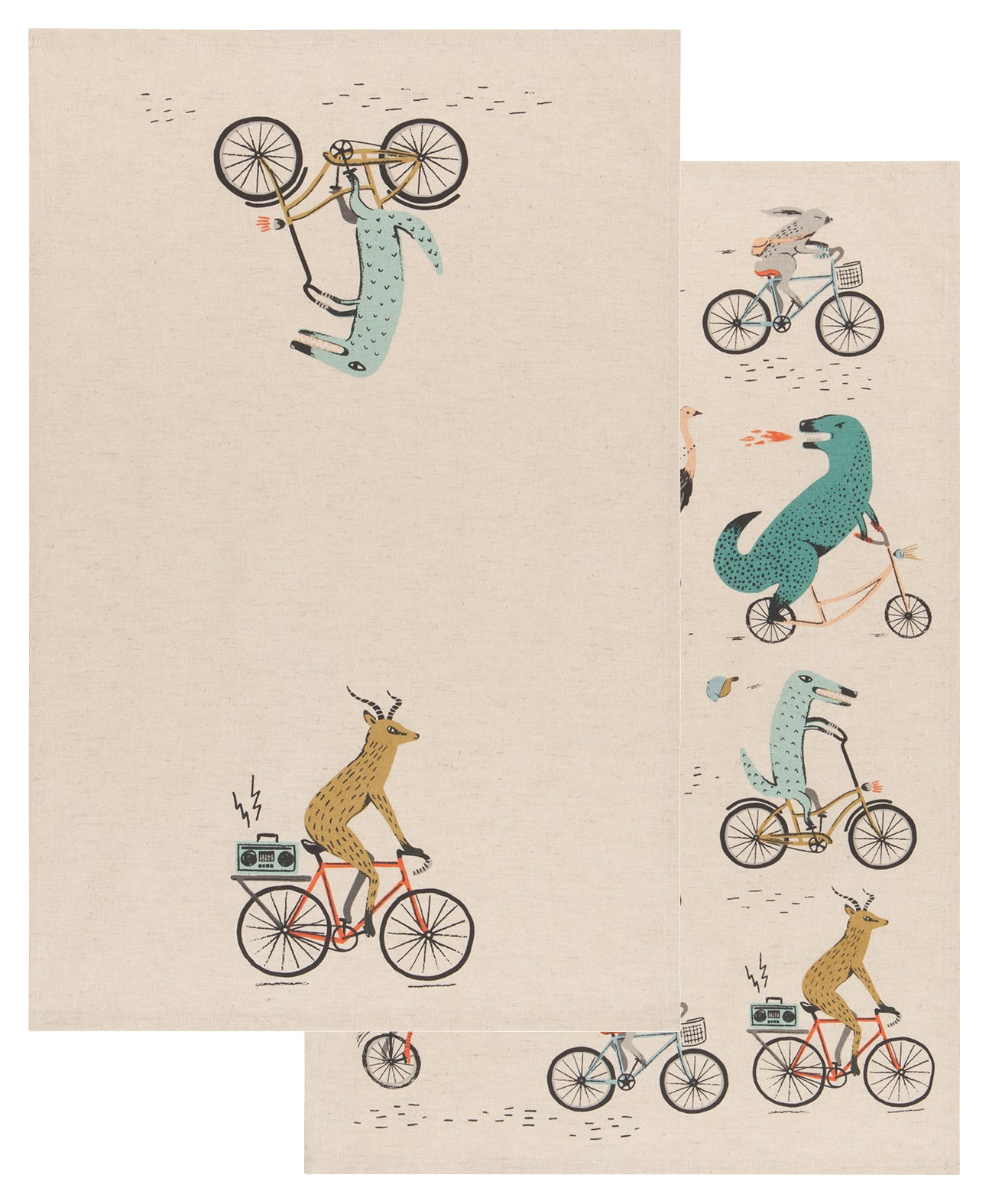 Danica Dishtowel Set Wild Riders