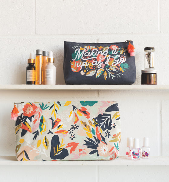 Danica Cosmetic Bag Small Superbloom