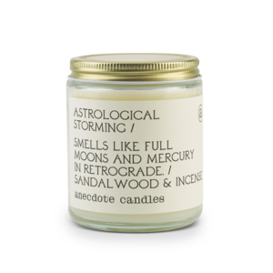 Anecdote Jar Candle - Astrological Storming