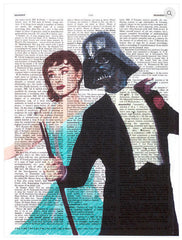 ArtnWordz Print - Audrey and Darth