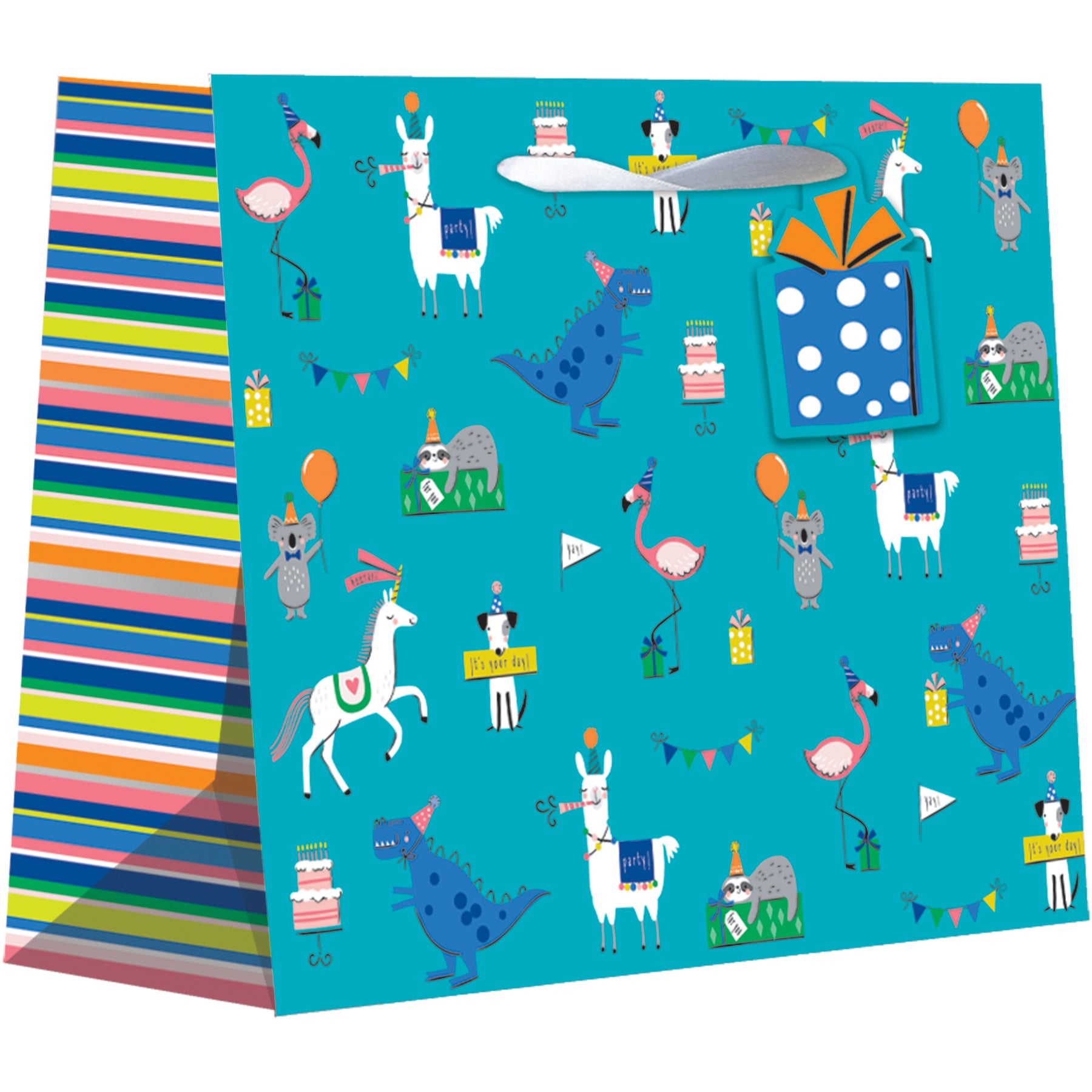 Large Gift Bag Party Animals