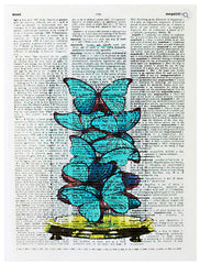 ArtnWordz Print - Butterfly Glass