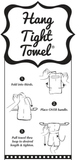 Twisted Wares Flour Sack Hang-Tight Towel - Where My Ho's At?