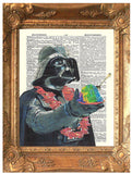 ArtnWordz Print - Darth Aloha