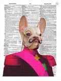 ArtnWordz Print - French Bulldog
