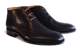 Men's Goodyear Welted Black Desert Boot