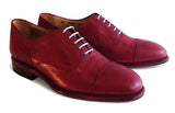 Women's Goodyear Welted Oxford Burgundy