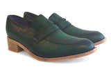 Women's Veneto Penny Loafer Forest Green