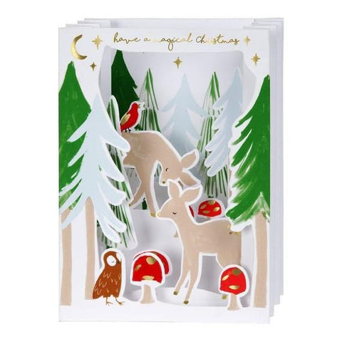 Meri Meri Woodland Concertina Card