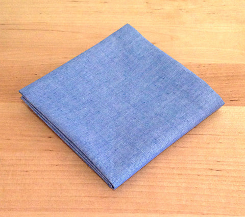 Accessories - Pocket Square - Light blue