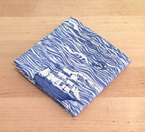Accessories - Pocket Square - Ship on Rough Seas