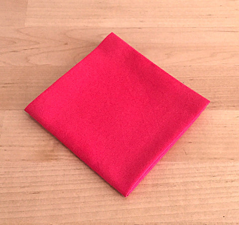 Accessories - Pocket Square - Red