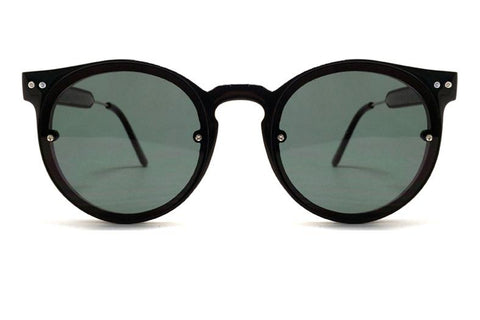 Spitfire Sunglasses - Post Punk Black / Black