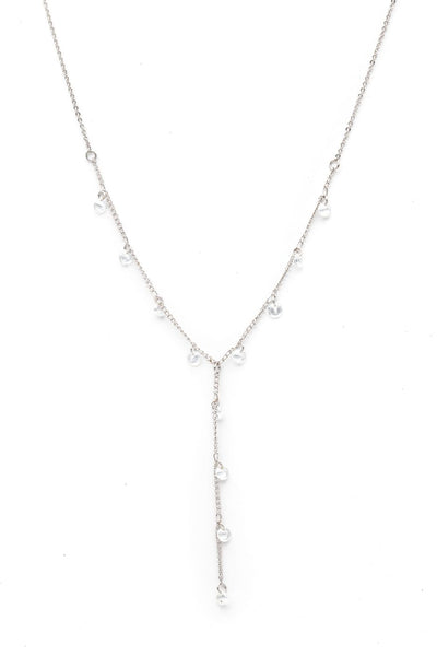 Lover's Tempo Necklace Constellation Lariat - Silver