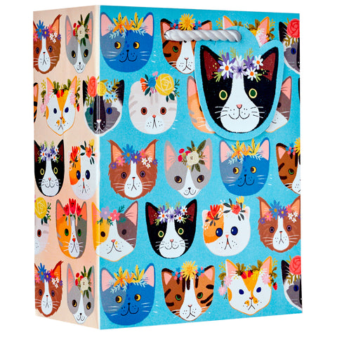 Small Gift Bag Kitty Cats