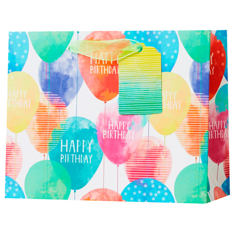 Small Gift Bag Balloon Birthday