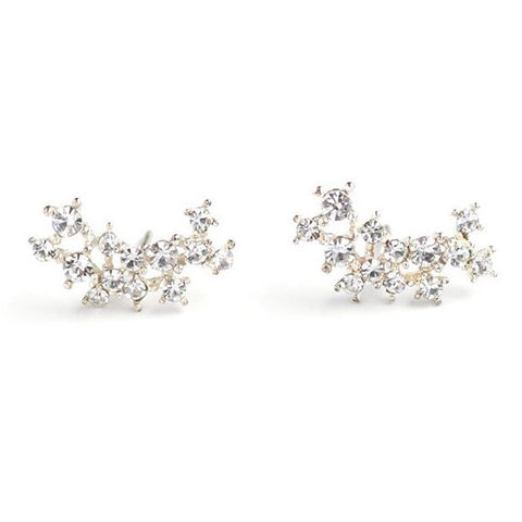 Lover's Tempo Earrings Stardust Climber - Clear