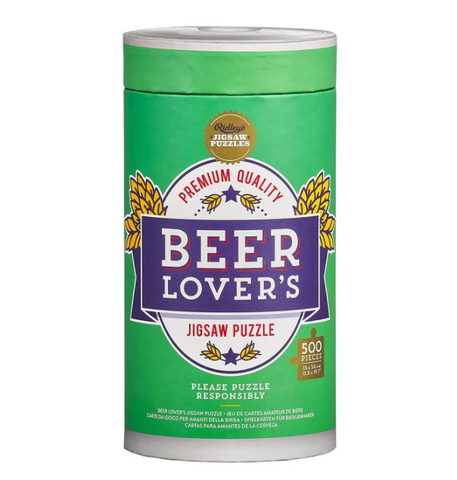 Ridley's Beer Lover's 500 Piece Puzzle