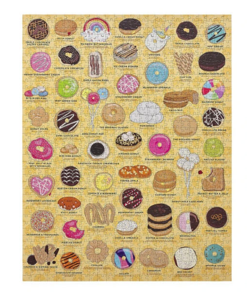 Ridley's Donut Lover's 1000 Piece Puzzle