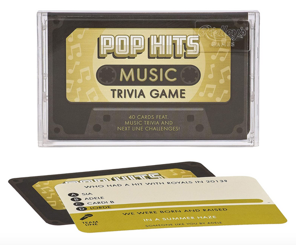 Ridley Trivia Cassette Tape Quiz Pop Hits