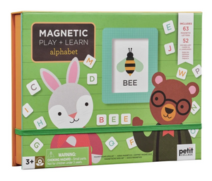 Petit Collage - Multi Language Alphabet Magnetic Play + Learn