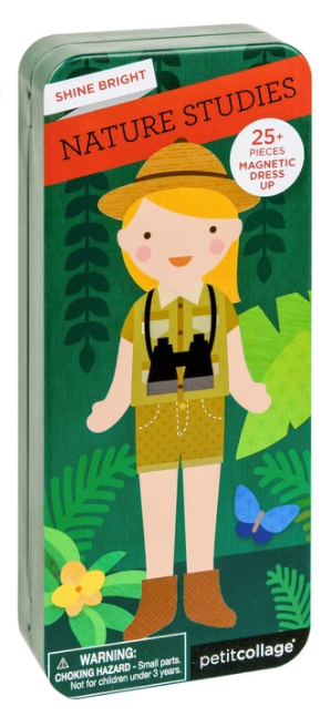 Petit Collage Shine Bright - Magnetic Dress-Up Nature Studies