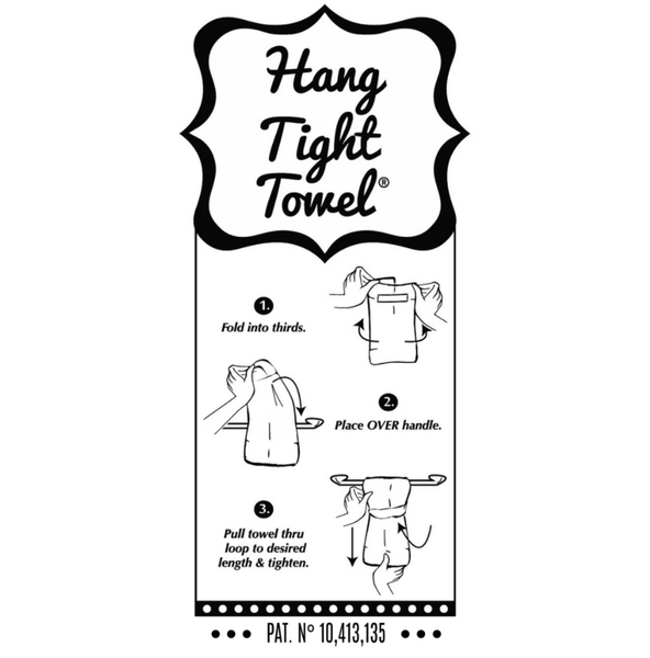 Twisted Wares Flour Sack Hang-Tight Towel - When Life Gives You Lemons...