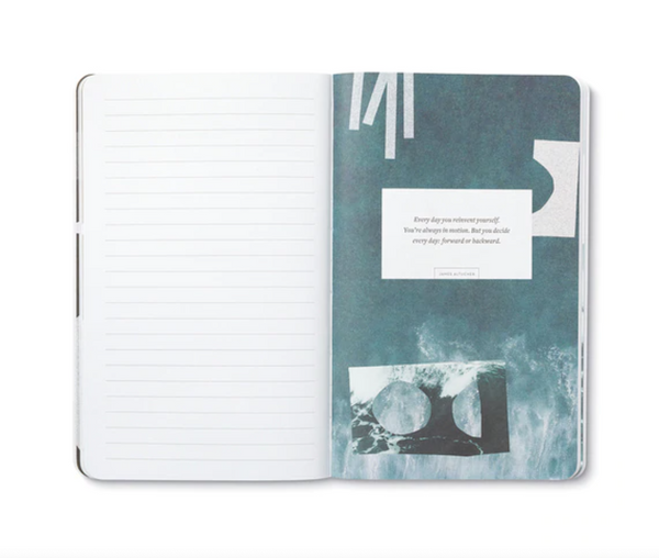 Write Now Journal To Exist Is To Change - Henri Bergson
