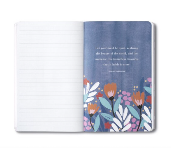 Write Now Journal Dwell on The Beauty of Life  - Marcus Aurelius