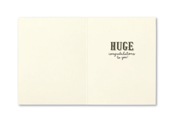 Love Muchly Greeting Card - This Is Major.