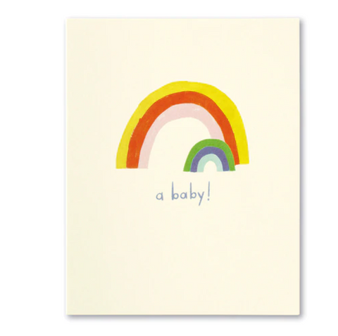 Love Muchly Greeting Card - A Baby
