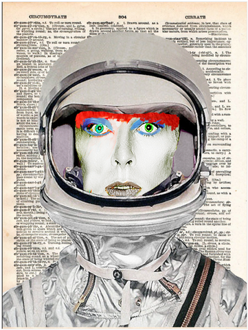 ArtnWordz Print - Spaceman