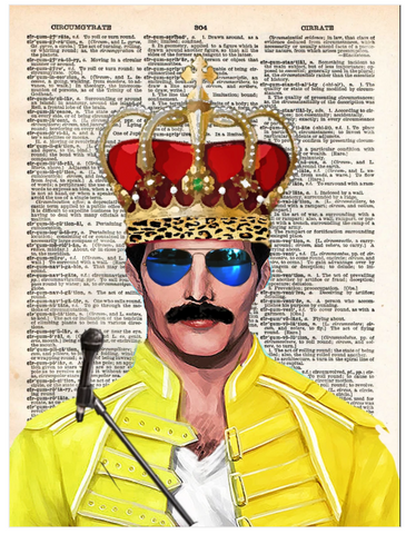 ArtnWordz Print - Rock Royalty