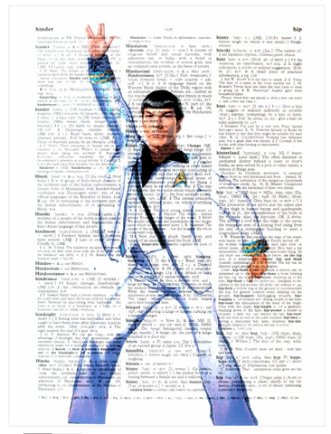 ArtnWordz Print - In the Spock-Light