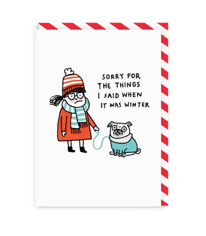 Gemma Correll Sorry For The Things I Said When It Was Winter