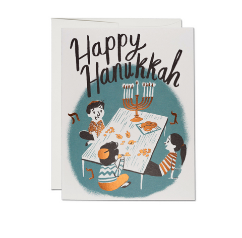 RedCap Hanukkah Card Family