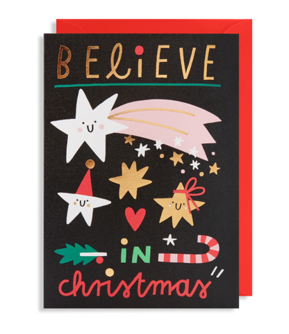 Lagom Design Christmas Card Believe