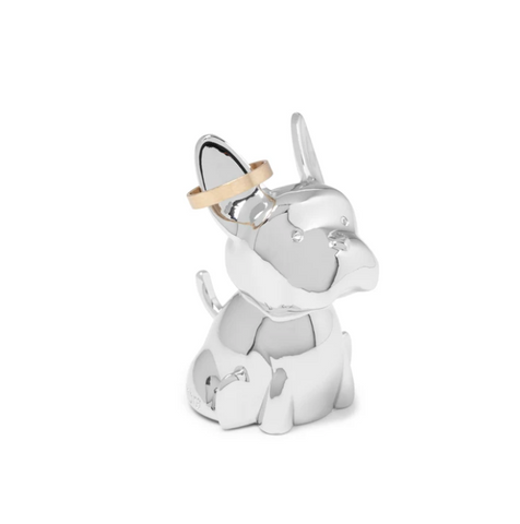 Umbra Ring Holder Zoola Frenchie Chrome