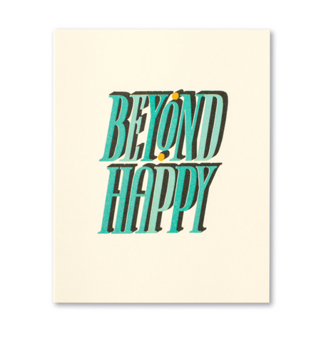 Love Muchly Greeting Card - Beyond Happy