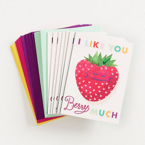 Paper Source - Cute Fruit Valentine Cards