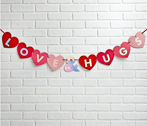 Paper Source - Love and Hugs Banner