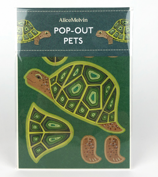 Alice Melvin - Rabbit Pop Out Pet