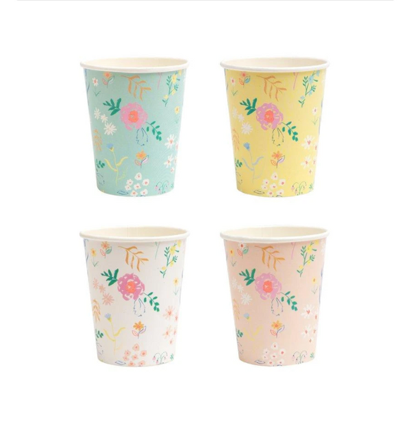 Wildflower Pastel Cups