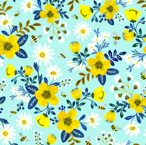 Gift Wrap Roll Bumble & Daisy