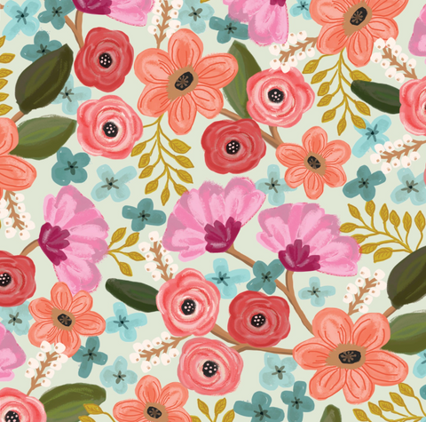 Gift Wrap Roll Gypsy Floral