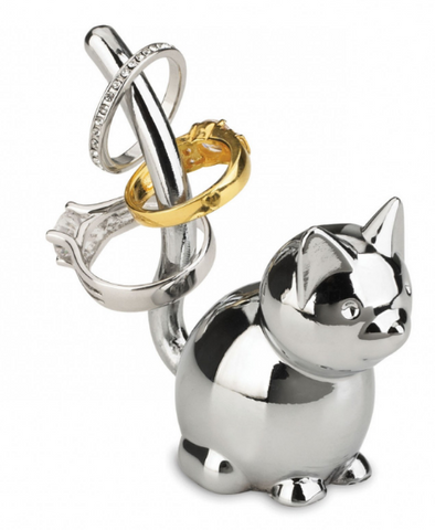 Umbra Ring Holder Zoola Cat Chrome