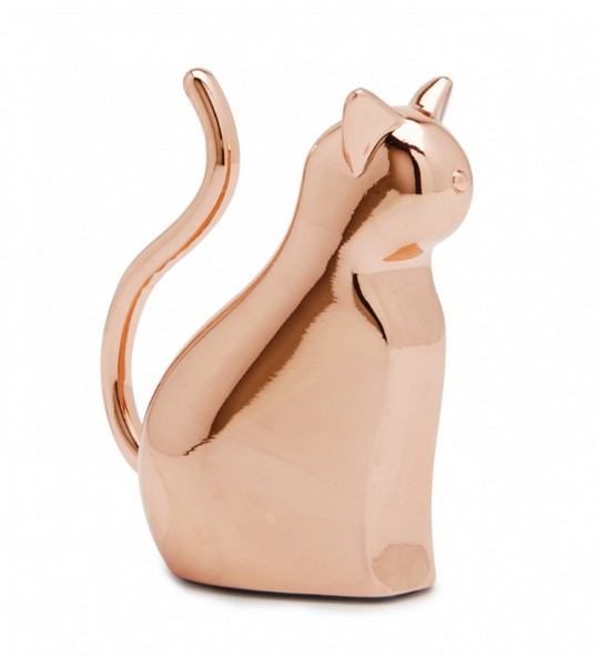 Umbra Ring Holder Anigram Cat Copper