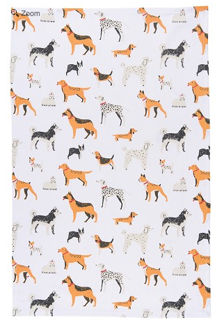 Danica Dog Days Dishtowel
