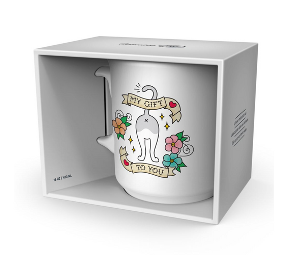 "Fred & friends Say Anything ""My Gift To You"" Mug"